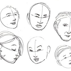 Cartoon Fundamentals How To Draw A Cartoon Face Correctly Pearltrees