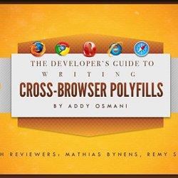 HTML5 Cross Browser Polyfills · Modernizr/Modernizr Wiki