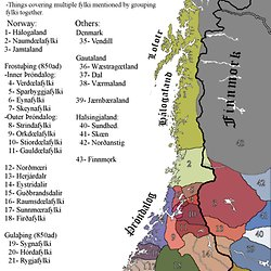 World history maps by thomas lessman pearltrees the viking age fylki petty kingdoms of norway gumiabroncs Choice Image