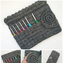6892a6c61be Ammonite Crochet Hook Roll Pattern ⋆ Look At What I Made