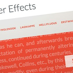 Slider et animation css | Pearltrees
