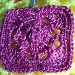 sac granny au crochet étape 1   bienvenue chez mamie jeannette b26f77497d9