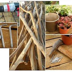 Tableau végétal en bois flotté | Pearltrees
