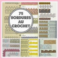 Mes Favoris Tricot Crochet 75 Bordures Au Crochet Pearltrees