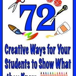 Creative school project ideas?