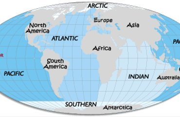 What Are The 5 Oceans Oceans of the World - 5 OceansWhat Are The 5 Oceans
