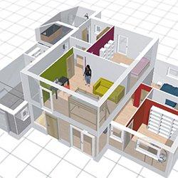 Logiciel gratuit pour dessiner ses plans 3d for Logiciel creation maison