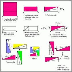 Origami Make Instructions To Learn How Models