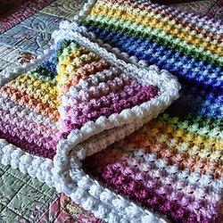 Diagonal Tunisian Crochet Stitch Pattern 101712 Pearltrees