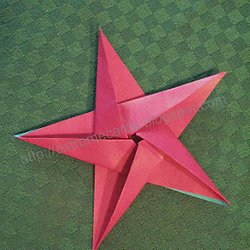 Five Pointed Origami Star
