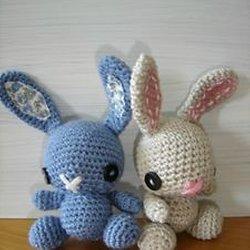 Français/English : Modèle au crochet amigurumi My little bunicorn ... | 250x250