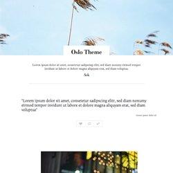 Free Tumblr Themes Themesthatyoulike