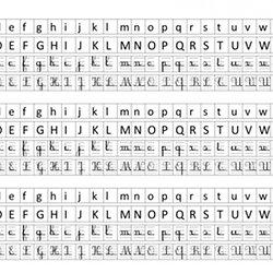 alphabet affichage - Maternelle Grande Section