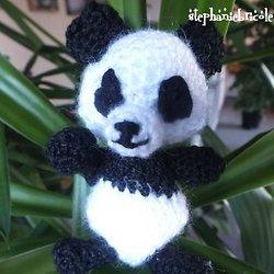 Doudou panda crochet | Les Tricots et Loisirs d'Ophélie | 250x250