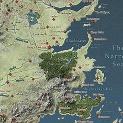Interactive Game of Thrones Map with Spoilers Control | Pearltrees