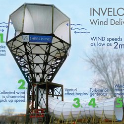 Funny Looking Tower Generates 600% More Electrical Energy