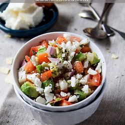 Not-so-Dumb Salad Recipe With Cucumbers, Tomatoes, Onions, Avocado ...