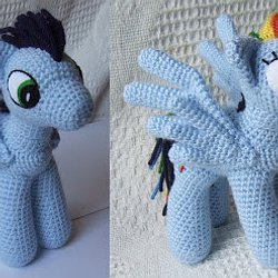 Baby Knitting Patterns Cute pony amigurumi crochet pattern. Make ... | 250x250