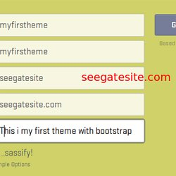 Bootstrap Editor and Playground for JavaScript, CSS, HTML5