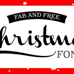 font friday fab and free christmas fonts design editor - Free Christmas Font