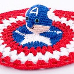 Amigurumi Captain America Pattern | Amigurumi | Crochet | Free 30 ... | 250x250