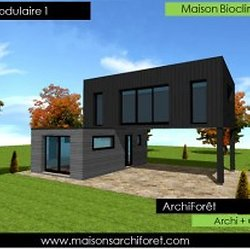 bodard modulaire great affordable affordable maison modulaire design nova with maison modulaire. Black Bedroom Furniture Sets. Home Design Ideas