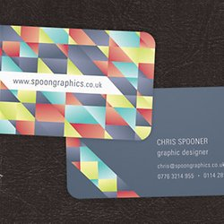 How to create a cubist style logo design in illustrator pearltrees print ready die cut business card reheart Choice Image