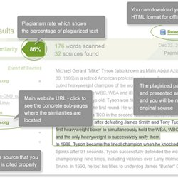 html plagiarism checker