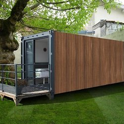 Maisons container arw pearltrees for Habiter un container