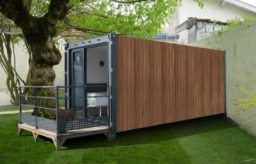 Maisons container arw pearltrees for Habiter container