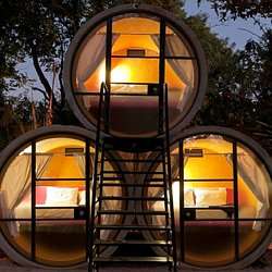 ... Concrete Pipe Tiny House Concept. Totally Tubular TubeHotel In Mexico  Offers Up Accommodations