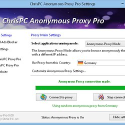gratuitement chrispc free anonymous proxy nouvelle version