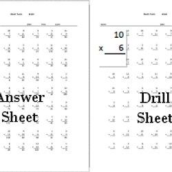 math worksheet : multiplication worksheets 3rd grade math drills  math sheets : Math Drill Multiplication Worksheets