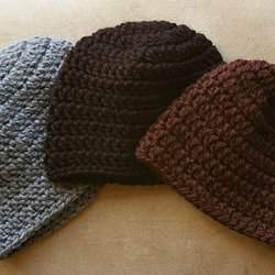 Easy Crochet Ribbed Hat Pattern Pearltrees