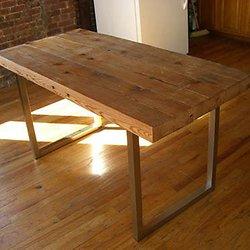Fabriquer Sa Table   Pas à Pas   Maison Construction, Faire Table Bois