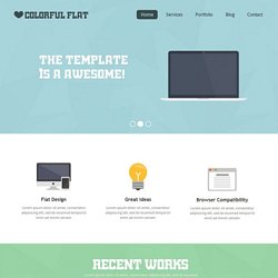 template html5 css3 gratuit