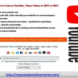Vimeo to MP3 Converter Online   Pearltrees