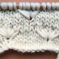 599fc941049 Comment tricoter le point fleur de pissenlit