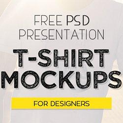 Free 40 Best T Shirt Mockup PSD Templates