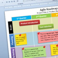 free editable agile roadmap powerpoint template | pearltrees, Agile Roadmap Powerpoint Template, Powerpoint templates