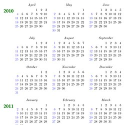 Periodic table of typefaces pearltrees changing the default calendar layout urtaz Choice Image