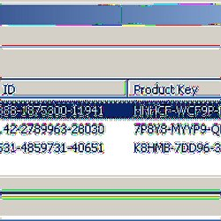 ProduKey - Recover lost product key (CD-Key) of Windows/MS-Office
