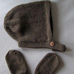 Le plaid en tricot. TUTO MOUFLES POUR BEBE FACILES - Mes petites activités 718f096088e