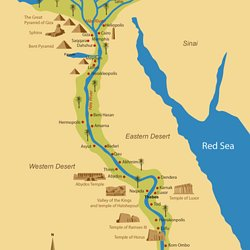 Unit Egypt Pearltrees - Map of ancient egypt for 6th grade