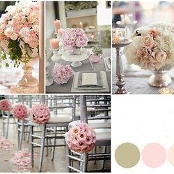 Deco salle mariage champetre chic - Deco mariage chic et romantique ...