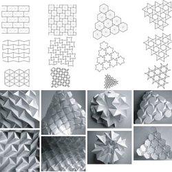 Rigid Origami Folding Architecture