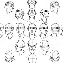 How To Draw The Head From Any Angle Pearltrees
