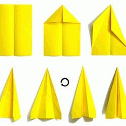 Comment faire comment faire un avion en papier howto - Comment faire un porte avion en papier ...