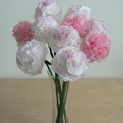 Origami noreslee pearltrees flower week tissue paper carnations mightylinksfo