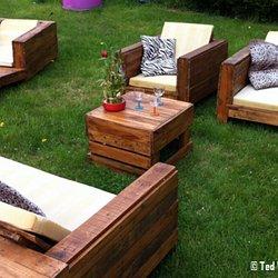 Une barrière de jardin en palette récup\' - A l\'extérieur | Pearltrees
